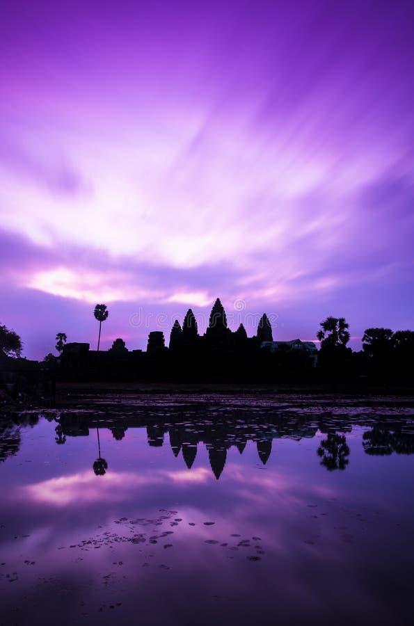 Download Sunrise of Angkor Wat stock photo. Image of beng, blue - 30098818