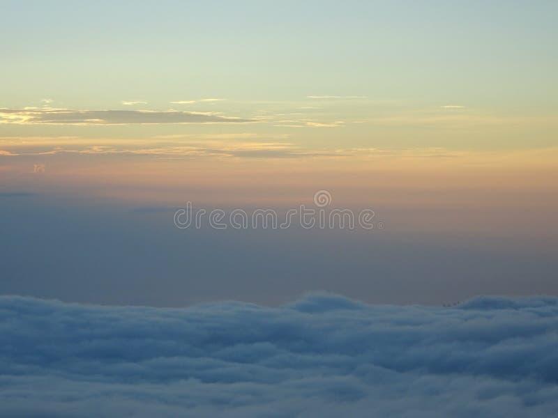 Sunrise in Bali royalty free stock photo
