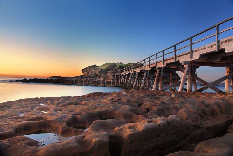 Sunrise at Bare Island, Australia
