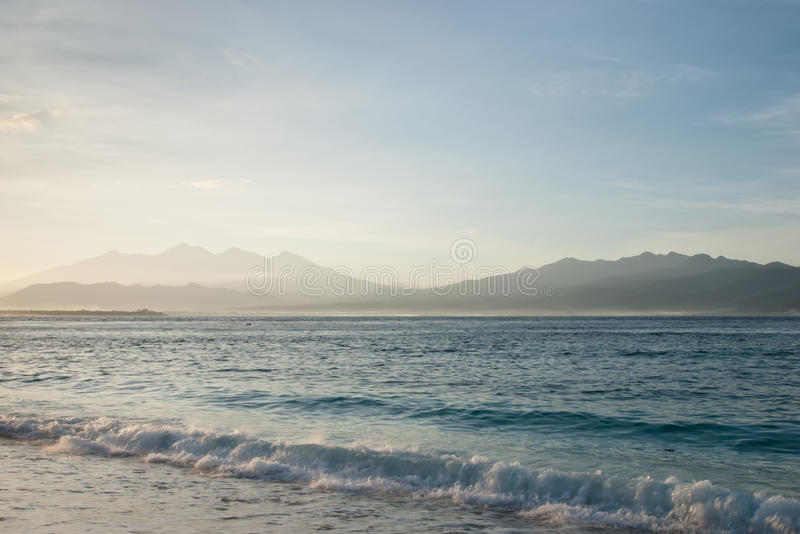 Download Sunrise on the beach stock image. Image of destination - 15235001