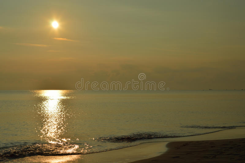Download Sunrise. stock image. Image of yellow, ripple, sunbeam - 35914681