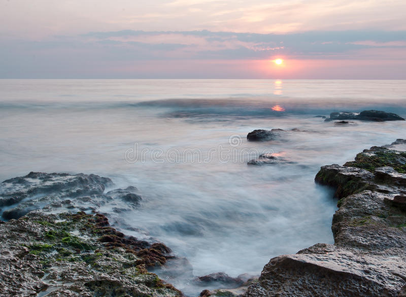 Download Sunrise at Black sea stock image. Image of sunrise, blue - 21293679
