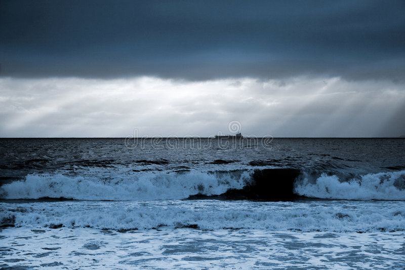 Sunrise Black Sea-Bulgaria-2008 Royalty Free Stock Image