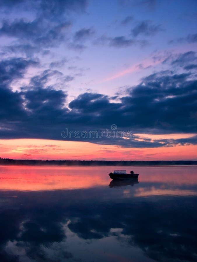 Free Sunrise Boating Stock Photos - 524993