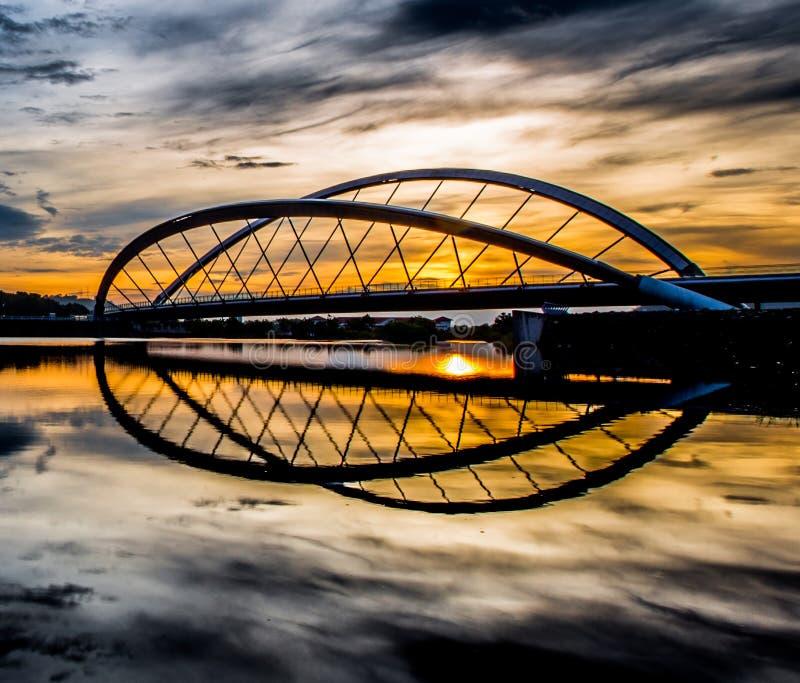 Download Sunrise And A Bridge II Stock Photography - Image: 34548882