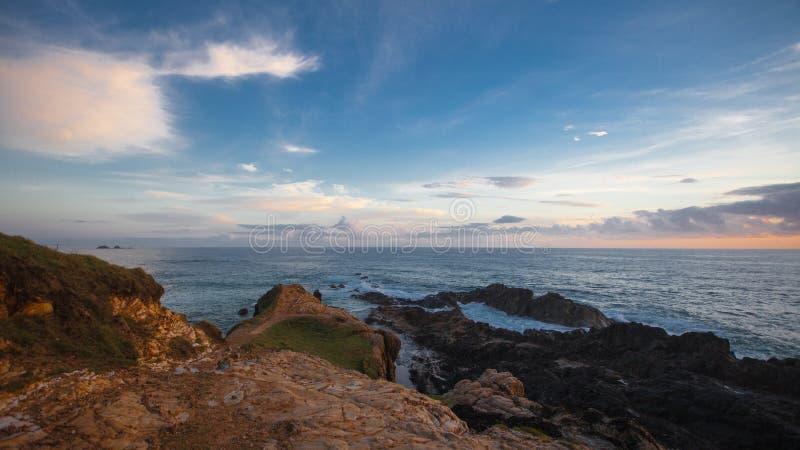 Sunrise At Byron Bay Royalty Free Stock Photo