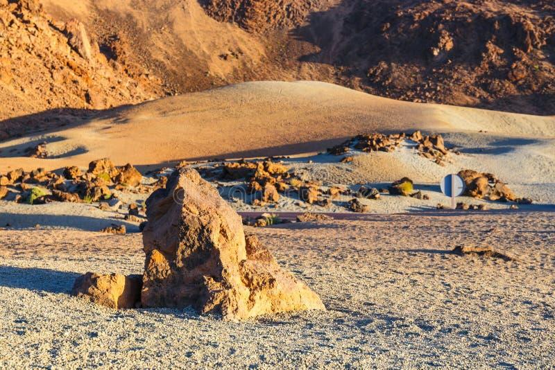 Sunrise in the caldera of El Teide Volcano, Tenerife stock photos
