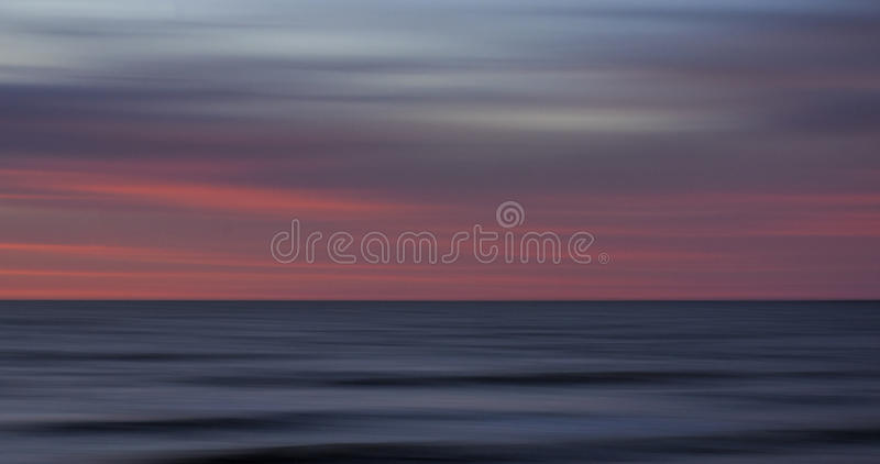 Sunrise at Cape May, New Jersey stock photography