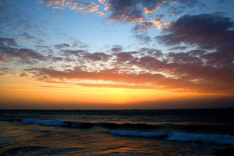 Download Sunrise clouds stock image. Image of golden, dusk, inspirational - 6033973