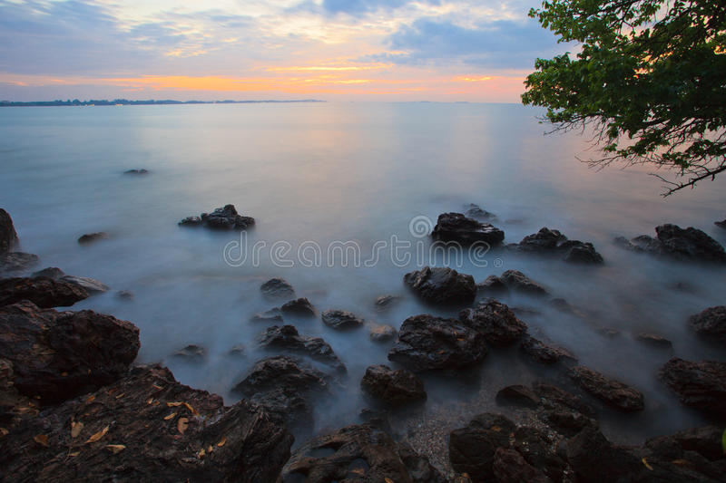 Download Sunrise in the cloudy day stock image. Image of amazing - 23710819