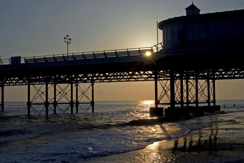 Download Sunrise, Cromer Pier stock image. Image of england, channel - 5818487