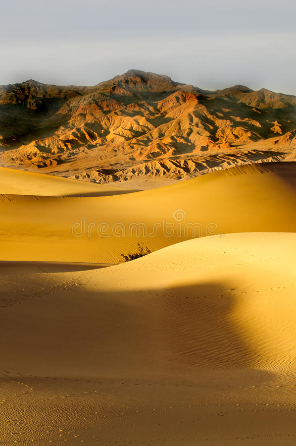 Download Sunrise in Death Valley stock photo. Image of eroded - 19075276