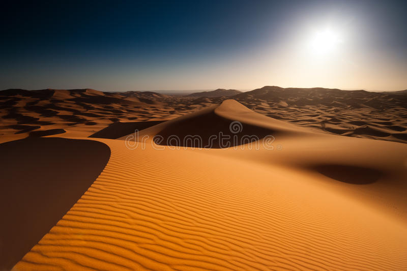 Download Sunrise in desert stock photo. Image of lonely, outdoor - 29315062