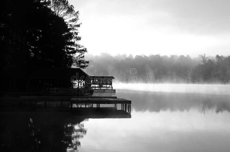 Sunrise Dock royalty free stock photography