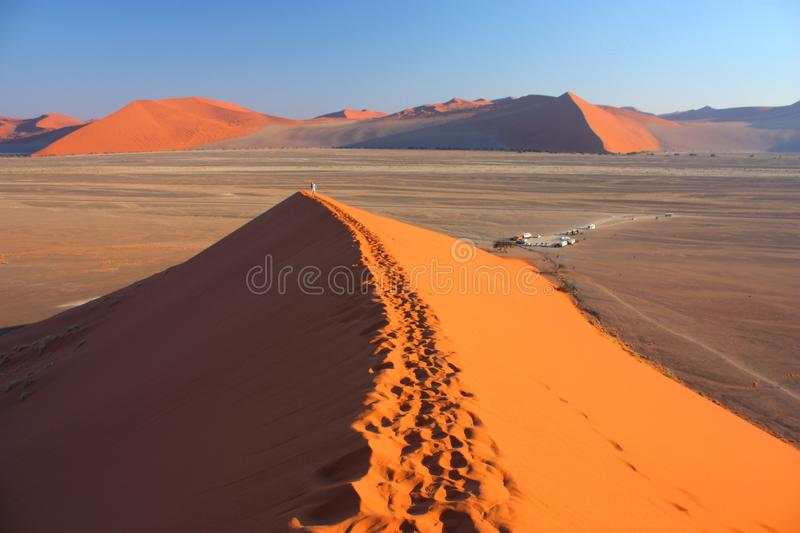 Download Sunrise at dune 45 stock photo. Image of journey, mystical - 26628496