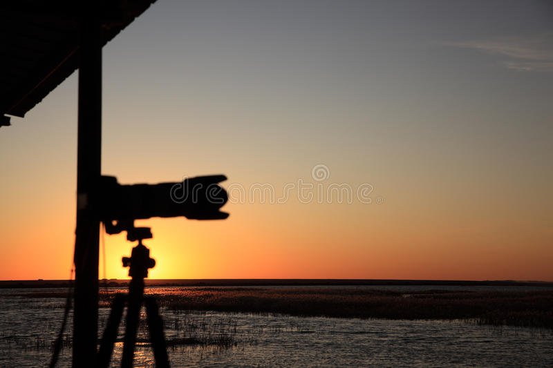Sunrise in early morning royalty free stock photo