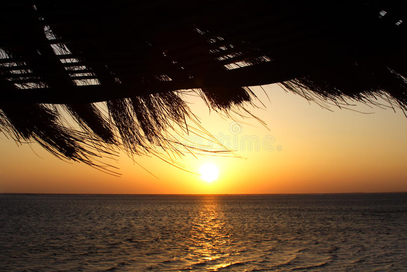 Sunrise in Egypt royalty free stock photo
