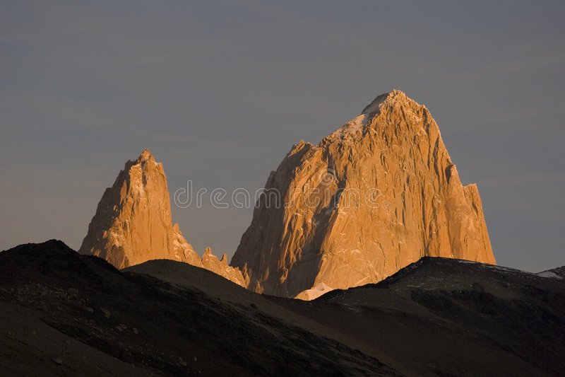 Download Sunrise At Fitz-Roy Royalty Free Stock Photos - Image: 7332438
