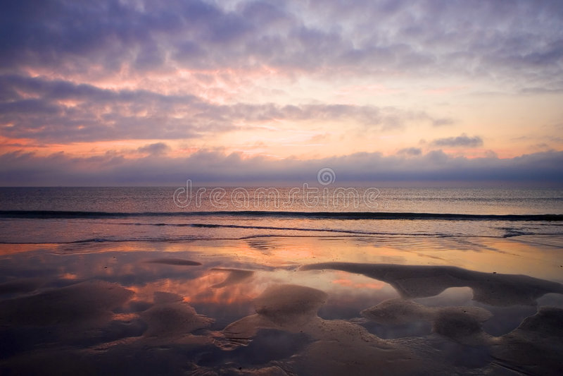 Sunrise In Florida Stock Images