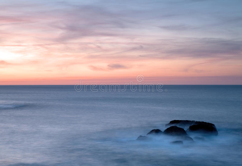 Download Sunrise Foggy rocks stock image. Image of clouds, atlantic - 16920813