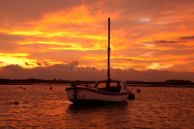 Download Sunrise At Four Mile Bridge Royalty Free Stock Image - Image: 22411086