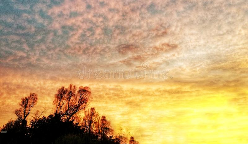 Sunrise royalty free stock photos
