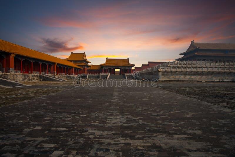 Download Sunrise Gate Forbidden City Supreme Harmony Stock Image - Image: 17211123