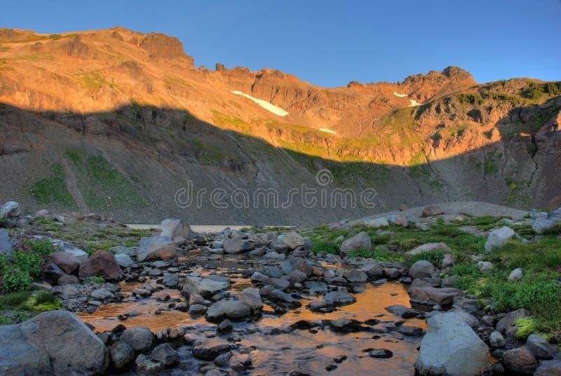 Download Sunrise, Goat Rocks Wilderness, Washington State Stock Image - Image: 7331871