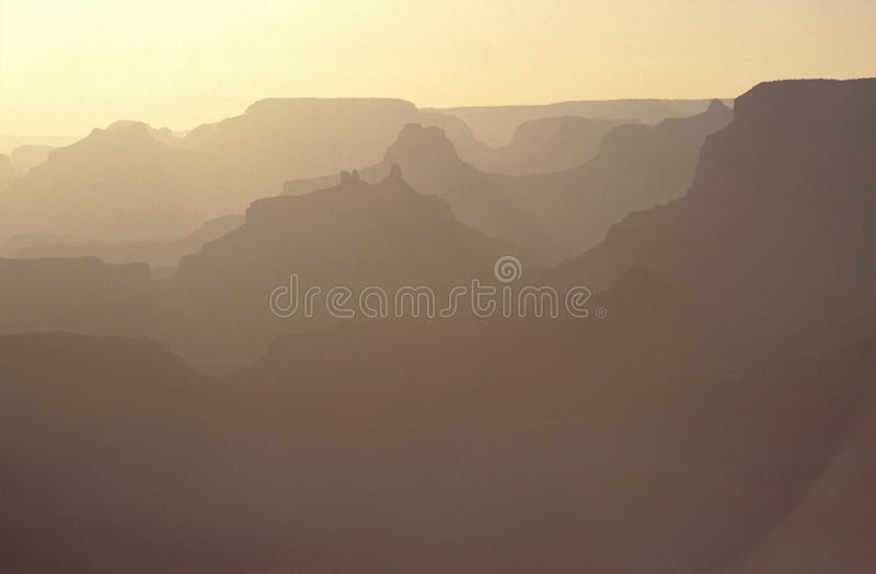 Download Sunrise On Grand Canyon, USA Stock Image - Image of silhouette, grand: 33668815
