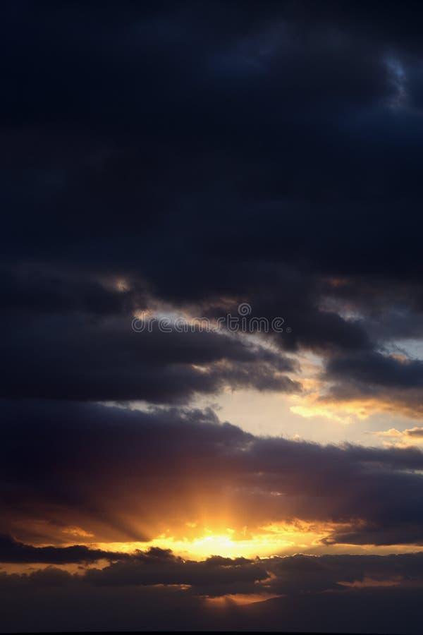 Sunrise In Haleakala Park. Stock Image