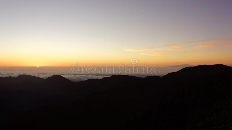 Sunrise from Haleakala