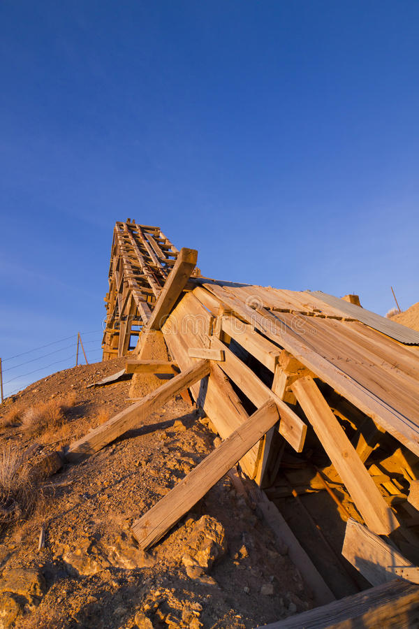 Download Sunrise Headframe stock image. Image of structure, frame - 22780323