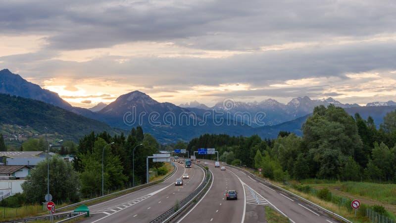 Sunrise Highway Free Public Domain Cc0 Image