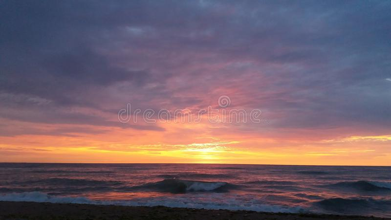 Sunrise of hope royalty free stock photo