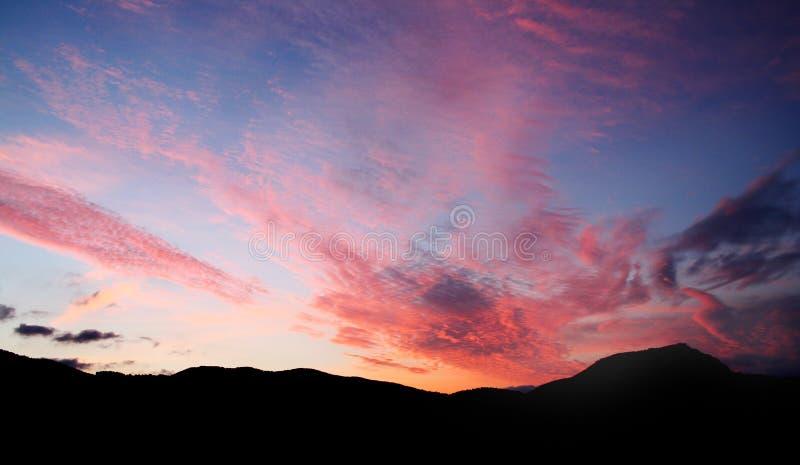 Sunrise Ibiza royalty free stock photography