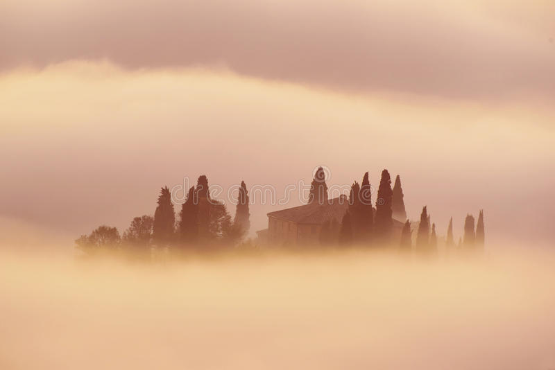 Sunrise in Italy royalty free stock photos