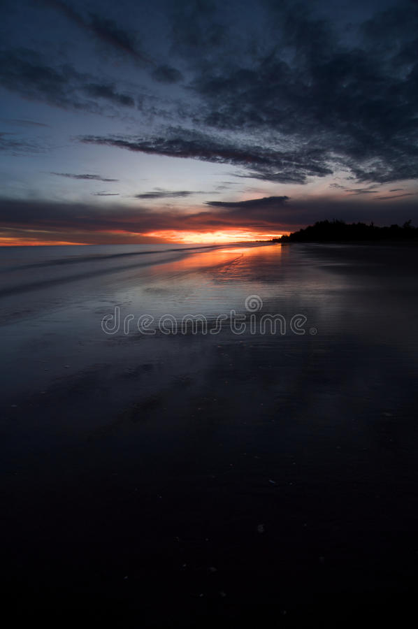 Sunrise At Jubilee Park royalty free stock photos