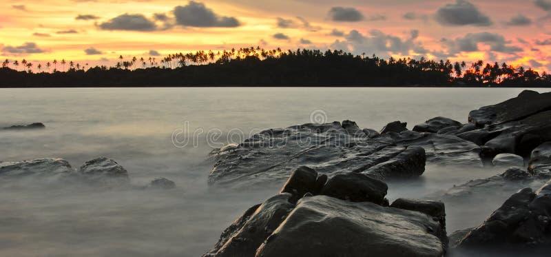 Download Sunrise At Kohkood Thailand Stock Photo - Image: 26977788