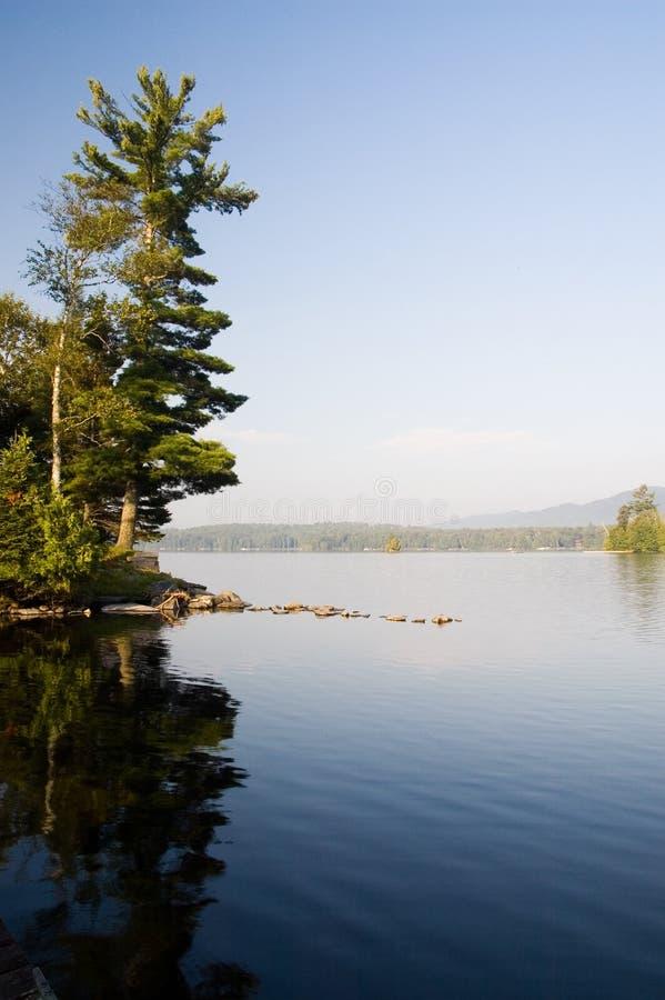 Sunrise on the Lake royalty free stock images