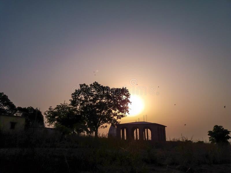 Sunrise, landscape stock photos