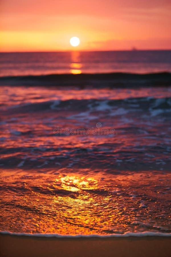 Download Sunrise Light Shining On Ocean Wave Stock Photo - Image: 35079182