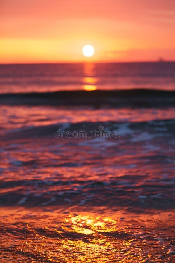 Download Sunrise Light Shining On Ocean Wave Stock Photo - Image: 35079222