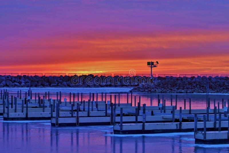 Download Sunrise At The Marina Royalty Free Stock Photo - Image: 31578915