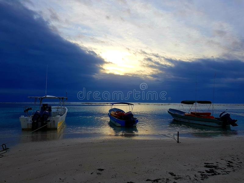 Sunrise in Mexico royalty free stock photos