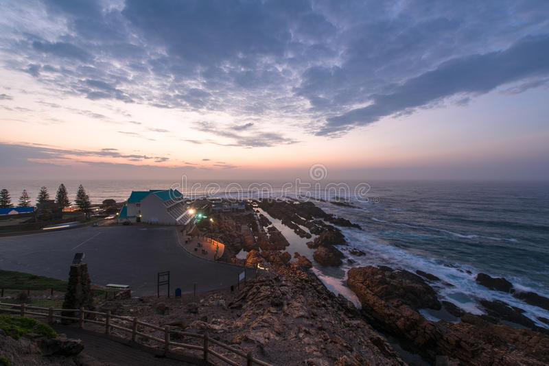 Sunrise at Mossel Bay, South Africa. Sunrise at Mossel Bay in South Africa royalty free stock photo