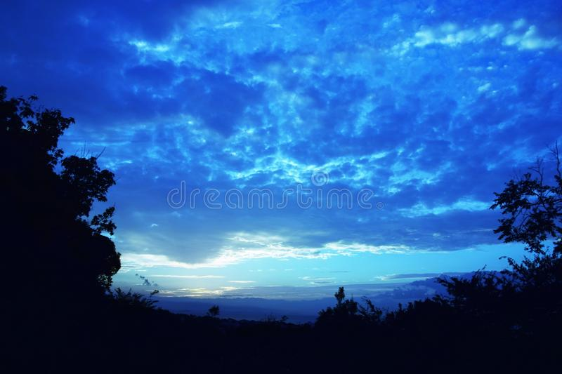 Sunrise. Is the most valuable moment in the day! I think so royalty free stock image