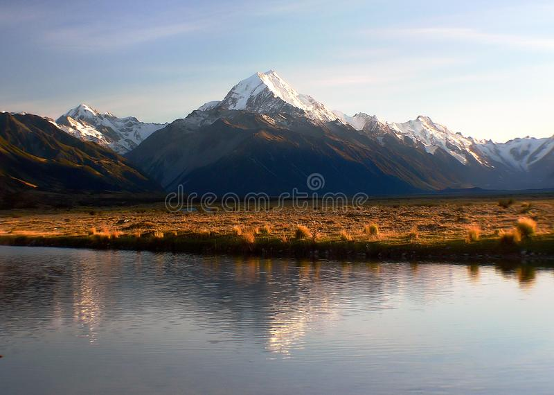 Sunrise Mount Cook (18) royalty free stock photography