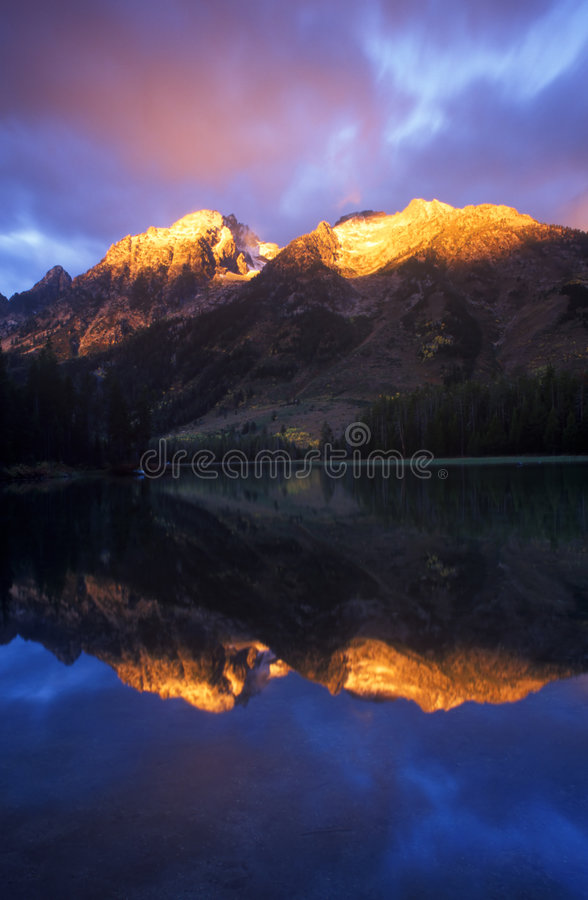 Download Sunrise in the Mountains stock photo. Image of dawn, beautiful - 1804896