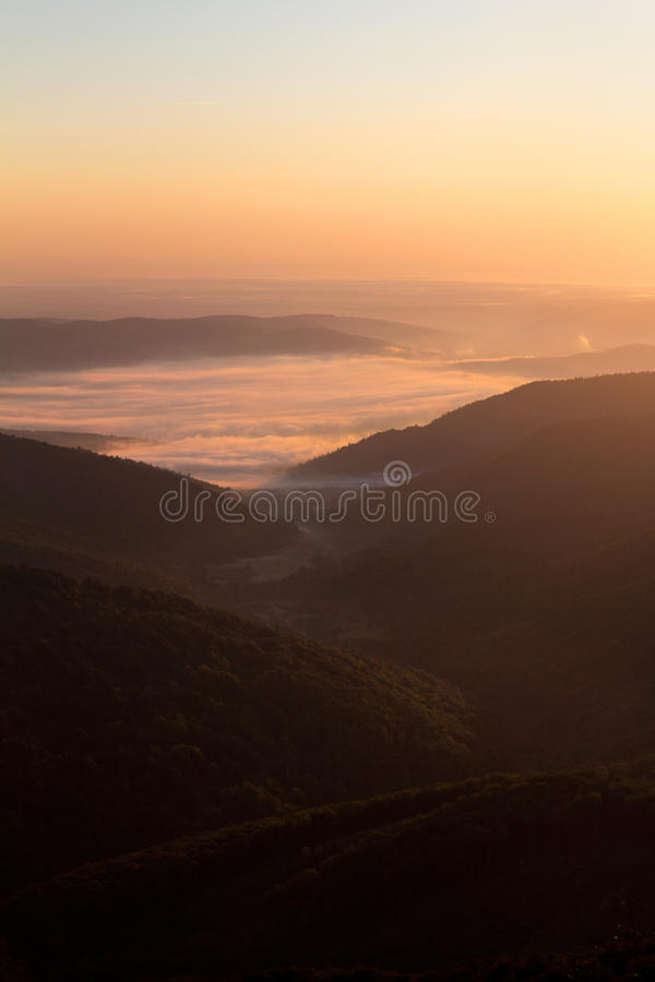 Download Sunrise in the mountains stock photo. Image of solar - 28233378