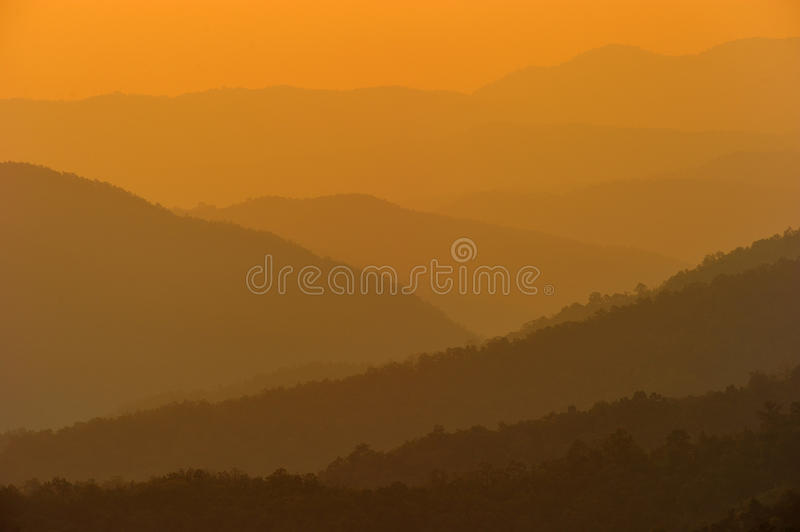 Download Sunrise At Nan Province,North Of Thailand Stock Image - Image: 28372717